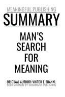 Man's Search For Meaning Pdf/ePub eBook