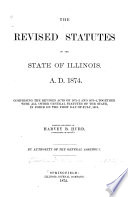 The Revised Statutes of the State of Illinois Book PDF