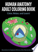 Human Anatomy Adult Coloring Book