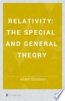 Relativity    ber die spezielle und die allgemeine Relativit  tstheorie  Engl