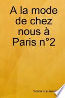 A la mode de chez nous à Paris n°2