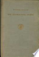 The Thanksgiving Hymns
