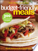 Better Homes And Gardens Budget Friendly Meals