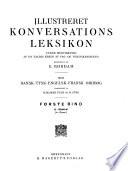 Illustreret konversations leksikon