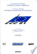 European Control Conference 1991