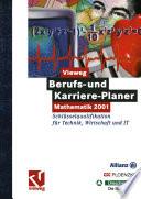 Vieweg Berufs Und Karriere Planer Mathematik 2001 Schl Sselqualifikation F R Technik Wirtschaft Und It