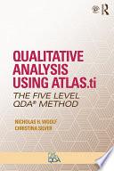 Qualitative Analysis Using Atlas Ti
