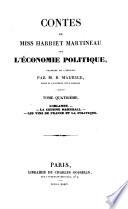 Contes de miss Harriet Martineau sur l'e conomie politique: L'Irlande. La cousine Marshall. Les vins de France et la politique