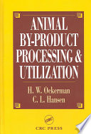 Animal By Product Processing   Utilization