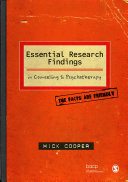 Essential Research Findings in Counselling and Psychotherapy