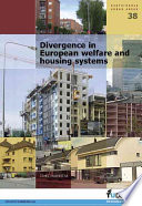 Divergence In European Welfare And Housing Systems book