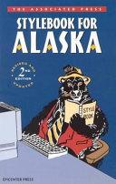 Book The Associated Press Stylebook for Alaska