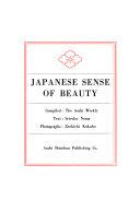 Japanese Sense of Beauty