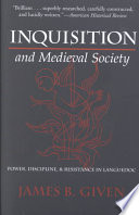 Inquisition and Medieval Society