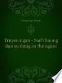 Truyen ngan - Sach huong dan su dung co the nguoi