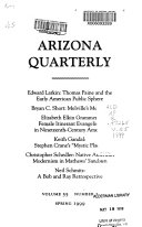 Ebook The Arizona Quarterly Epub N.A Apps Read Mobile
