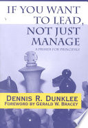 If You Want to Lead  Not Just Manage