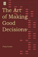 The Art Of Making Good Decisions : career path or are simply...