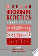 Modern Microbial Genetics book