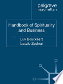 The Palgrave Handbook Of Spirituality And Business book