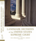 Landmark Decisions Of the United States Supreme Court  2nd Edition