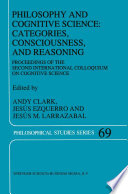 Philosophy And Cognitive Science Categories Consciousness And Reasoning book