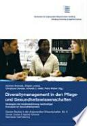 Diversitymanagement in den Pflege- und Gesundheitswissenschaften