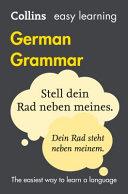 Easy Learning German Grammar