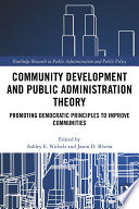Community Development and Public Administration Theory