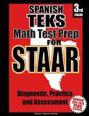 Spanish Teks 3rd Grade Math Test Prep for Staar