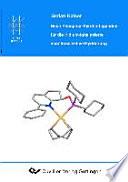 Neue Phosphor-Pyridin-Liganden für die Iridium-katalysierte enantioselektive Hydrierung