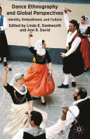 Book Dance Ethnography and Global Perspectives