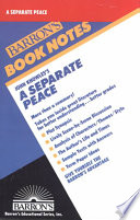 John Knowles s a Separate Peace