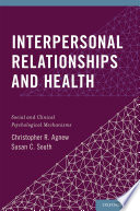Interpersonal Relationships and Health