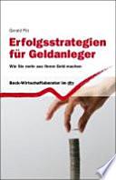 Erfolgsstrategien für Geldanleger