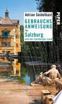 Gebrauchsanweisung f  r Salzburg und das Salzburger Land