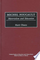 illustration Michel Foucault, Materialism and Education