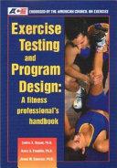 Exercise Testing   Program Design