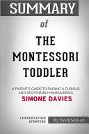 Summary Of The Montessori Toddler