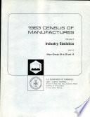 1963 Census of Manufactures