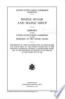 Maple Sugar And Maple Sirup