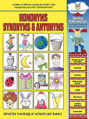 Reading Fundamentals   Homonyms  Synonyms   Antonyms
