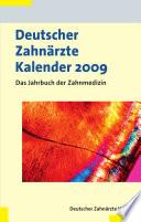 Deutscher Zahnärzte Kalender 2009