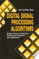 Digital Signal Processing Algorithms