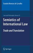 Semiotics of International Law