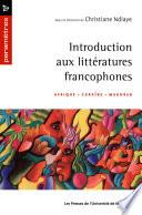 Introduction aux littératures francophones