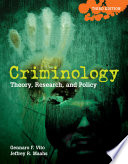 Criminology  Theory  Research  and Policy