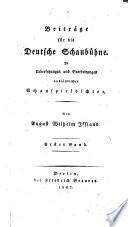 Beiträge für die deutsche Schaubühne