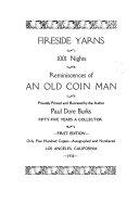 Fireside Yarns, 1001 Nights