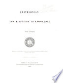 Smithsonian Contributions to Knowledge Book PDF